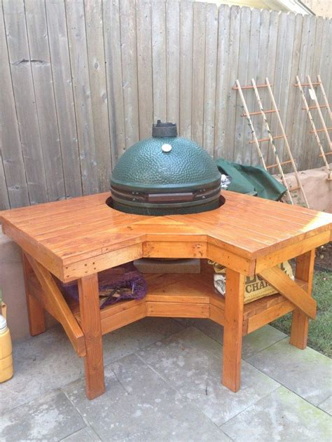 bbq table diy build a barbecue grill table diy projects for everyone
