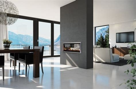 gas fireplace two sided 16 sensational and contemporary two sided fireplace ideas