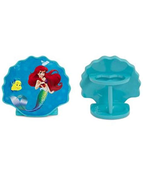 little mermaid bathroom accessories closeout little mermaid toothbrush holder bathroom
