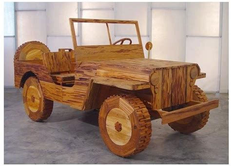 Wooden Jeep Wooden Jeep Just Neat