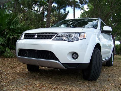 2009 mitsubishi outlander se 2009 mitsubishi outlander se awd review top speed
