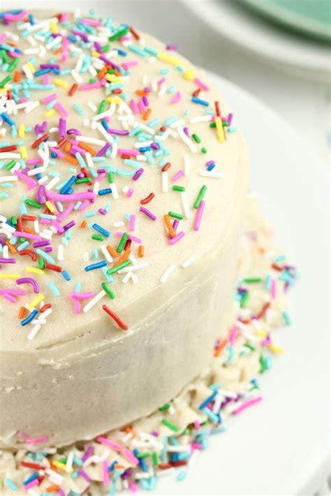 vegan birthday cake recipe for vegan gluten free funfetti birthday cake recipe to be