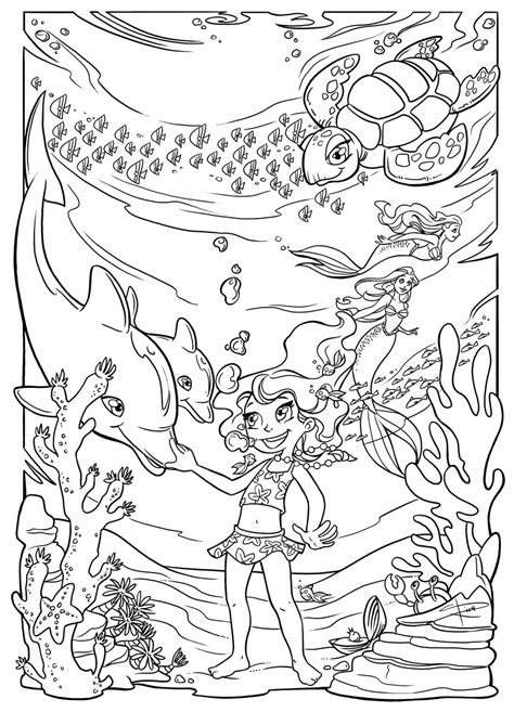 underwater coloring page underwater fun coloring page by sabinerich on deviantart