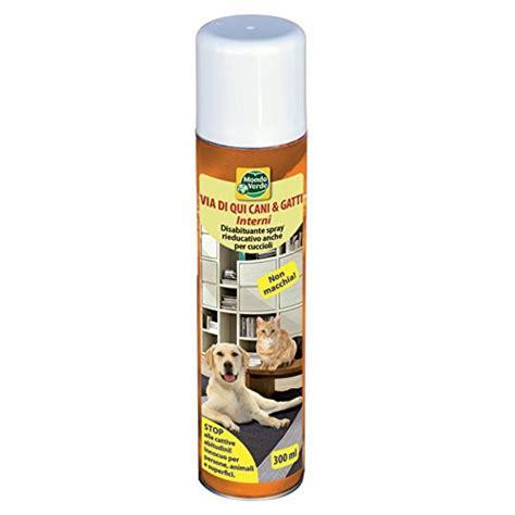 repellente per gatti divano repellente via di qui canie gatti ml 300 per interni