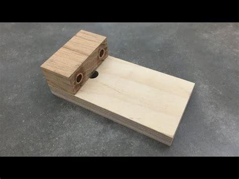 accurate dowel jig  scrap wood lifehacker