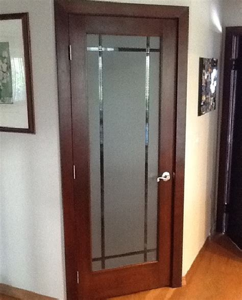 bedroom door frosted glass bedroom door for style improve the look of