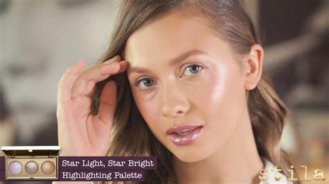 stila star light star bright stila s star light star bright highlighting palette youtube
