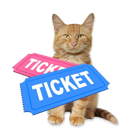We Are The Cat On Tour by Glogirly Blind Cat Rescue Raffle