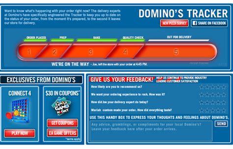 domino pizza tracker 3 world class practitioners of successful adaptive marketing