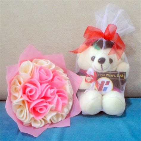 Teddy Wisuda Biru 26cm jual boneka teddy murah yogya kado wisudaku