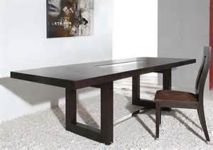 Oak Veneer Dining Table Thor Modern Wenge Oak Veneer Dining Table