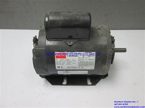 dayton capacitor start motor dayton 6k965ba capacitor start electric motor 1 2 hp 1725 rpm 115 230v cw ccw southern surplus