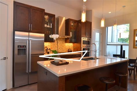 triangle design kitchens 6 useful things about kitchen island counters you should know