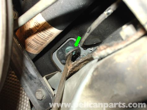Mercedes Benz W210 Gear Selector Bushing Replacement 1996