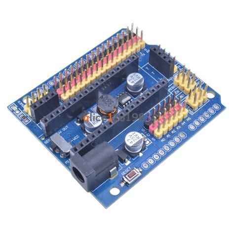 Expansion Board For Arduino Uno arduino nano v3 0 i o expansion board micro sensor shield