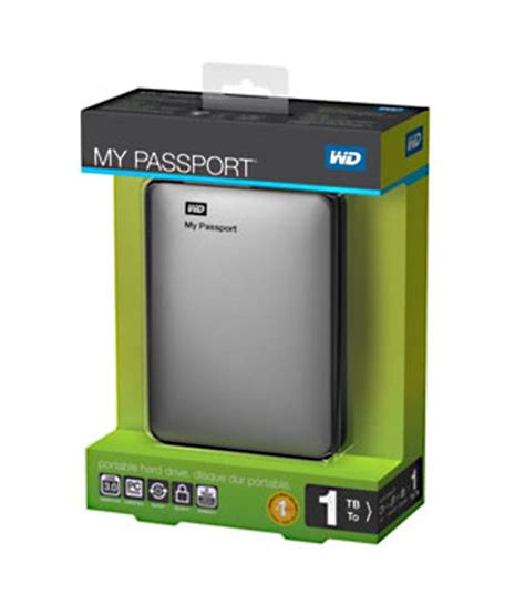 Hardisk My Passport 1 wd my passport 1 tb disk silver buy external disks at lowest prices on