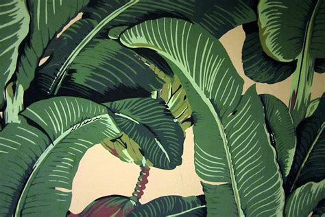 banana leaf wallpaper beverly hills hotel sylvia etc january 2013