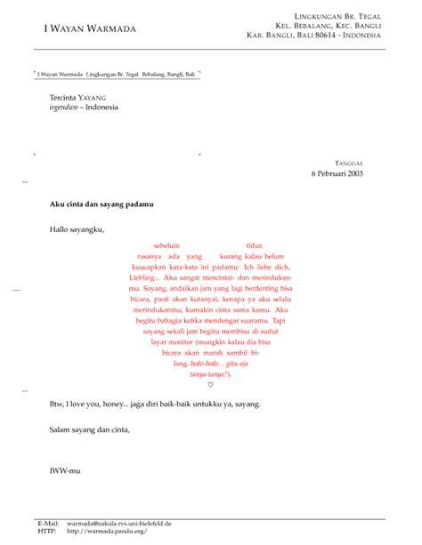 gambar 4 contoh tilan mengetik surat cinta dengan lyx