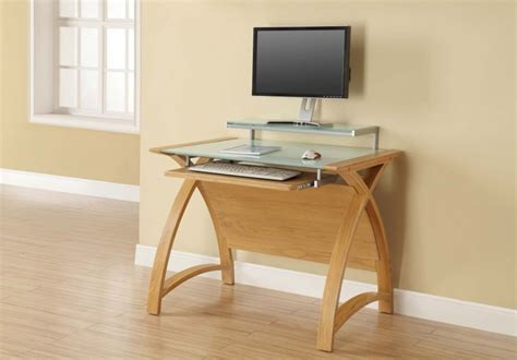 Jual Computer Desk Oak Computer Desk Uk Buy Jual Curve Oak Computer Desk Pc201 900 Cfs Uk Computer Desks