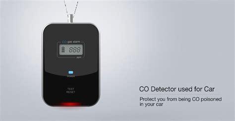 carbon monoxide detector in car carbon monoxide detector