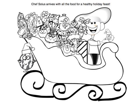 holiday nutrition printables free healthy coloring pages