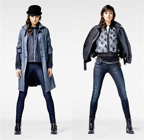 fashion star 2014 g star raw 2013 2014 winter womens looks denim jeans