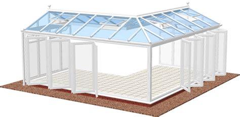 Gable Roof Shape Combination Diy Conservatories