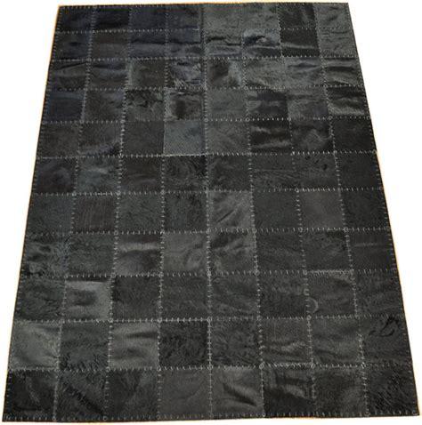teppich 180 x 160 kuhfell teppich schwarz 220 x 160 cm handvern 196 ht