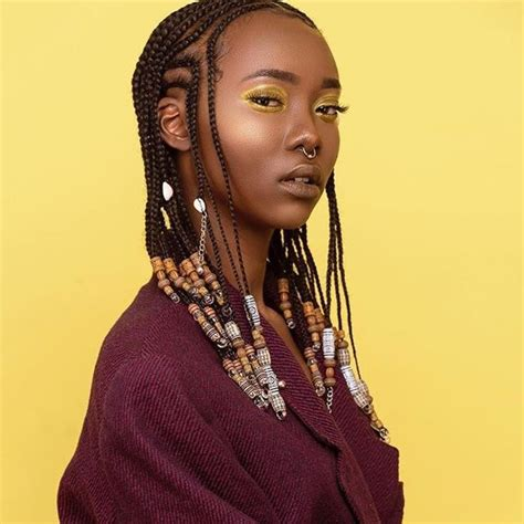 hairstyles with braids and beads swooning braids and beads naturalhair