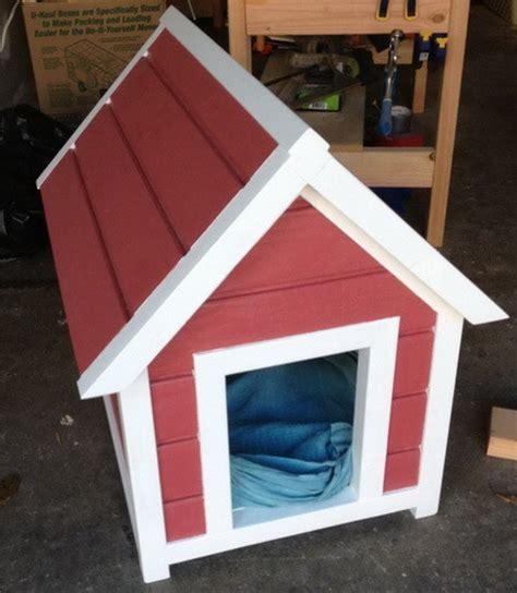 Wood Frame Dog House Plans