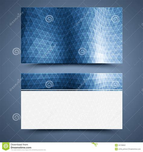 card background templates blue business card template abstract background stock