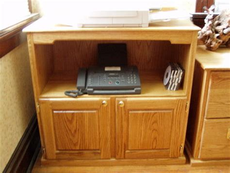 Red Oak Office Furniture Printer Stand By Gary Lucas Office Furniture Printer Stand
