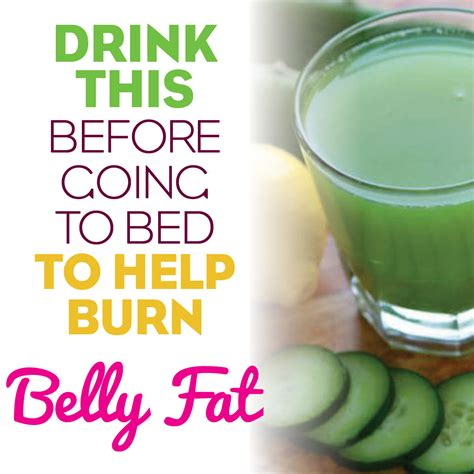 what to drink before bed drink this before bed to help burn belly fat reduce