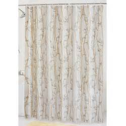 Peva Shower Curtains Mainstays Bamboo Garden Peva Shower Curtain Walmart