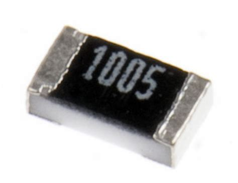 thick surface mount resistor crcw060310m0fkea vishay crcw series thick surface mount resistor 0603 10mω 177 1 0 1w