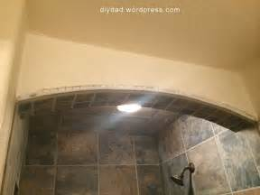 how to tile a shower ceiling diy