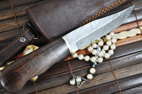 bushcraft blade bushcraft knife handcrafted damascus steel