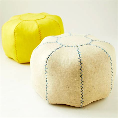 Your Own Pouf Ottoman Hint Coffee Sack Home