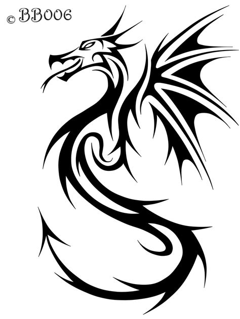 dragon with fire tattoo designs scroll saw ideas dragons tribal