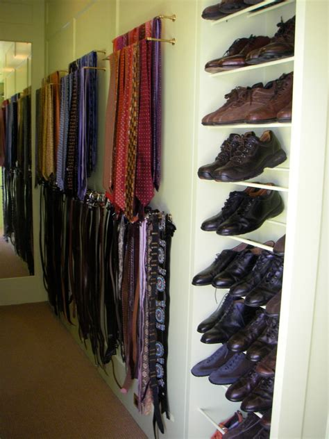 California Closet Tie Rack by Magnificent Tie Rack Decorating Ideas