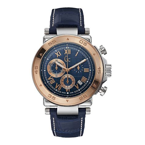 Guess Gc Hs156 Wb For gc 1 class s gold plated blue