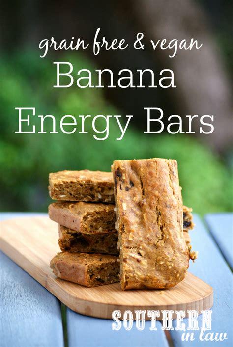 healthy vegan energy bars recipe southern in recipe banana energy bars vegan grain