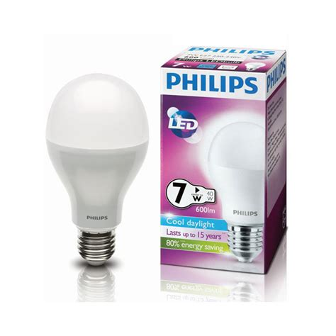 Lu Hemat Energi Led Philips jual bohlam led philips l 7 watt hemat energi