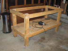 woodworking workbench design what wood for a workbench frame 171 singletrack forum