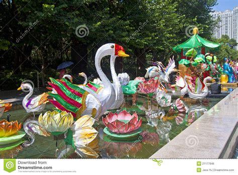 hong kong new year carnival mid autumn lantern carnival in hong kong editorial photo