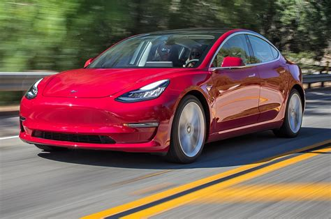tesla model 3 exclusive tesla model 3 drive review motor trend