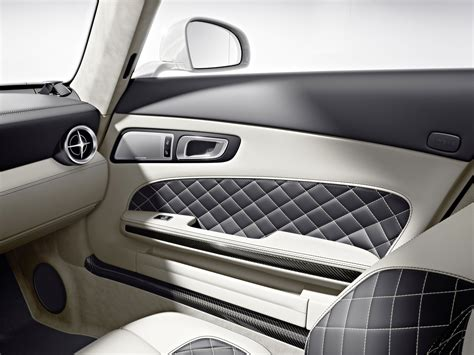 White Carbon Fiber Interior by Mercedes Pumps Up Sls Amg With New Gt Spec Slideshow