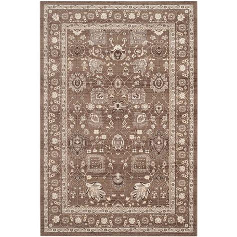 artisan area rugs safavieh artisan brown 4 ft x 6 ft area rug atn326h 4 the home depot