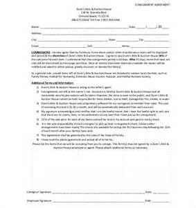 Agreement Letter Email 9 Consignment Agreement Templates Free Sle Exle Format Free Premium