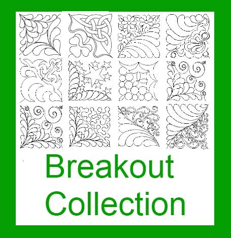 Computerized Quilting Patterns by Cascade Bundles Quilty Pleasures Computerized Quilting